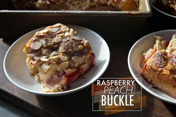 Raspberry Peach Buckle // shutterbean | Food Inspirations | Pinterest ...