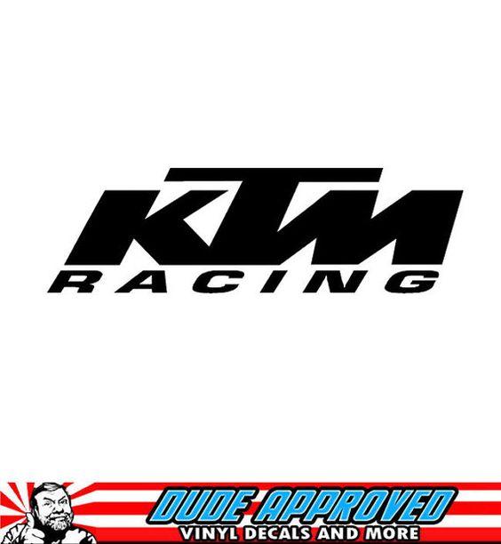 ktm racing sticker decal supercross motocross ken by dudeapproved