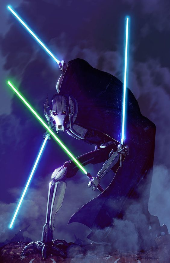 General Grievous Starwarsfanart Com Star Wars Star Wars Art Starwarsfanart Starwars Starwarsart Starw Star Wars Art Star Wars Artwork Star Wars Sith