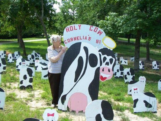 Holy Cow Yard Greetings!