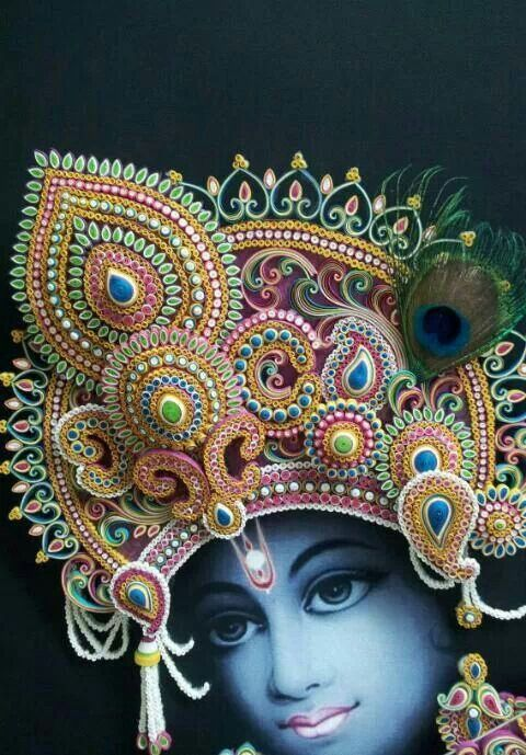Qullied krishna! By Bhavana | Art | Pinterest | Krishna ...