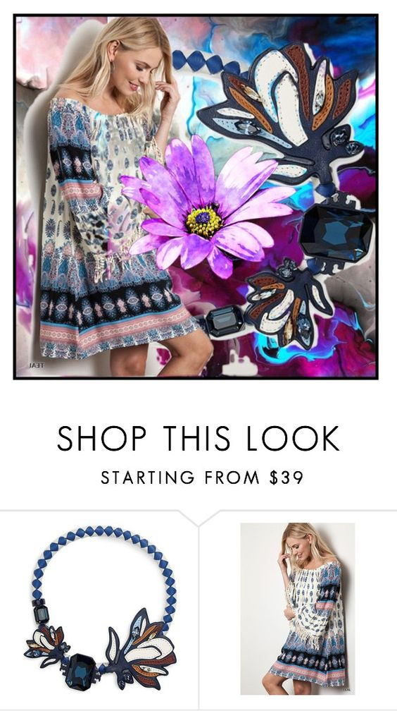 """Untitled #2400"" by aniol-1 ❤ liked on Polyvore featuring Tory Burch"