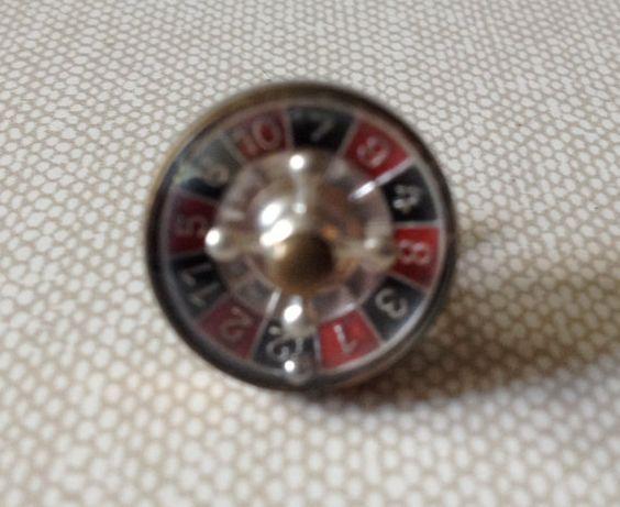 Vtg Austrian Roulette Wheel Tie Pin Roulette Wheel Roulette Tie Pin