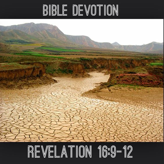 """Devotion: Revelation 16:9-12 (excerpt) """"...they cursed the name of God, who had control over these plagues, but they refused to repent and glorify him...People...cursed the God of heaven because of their pains and their sores, but they refused to repent of what they had done...  Note: * Even when the power of God is fully and completely revealed, many will still refuse to repent. If you find yourself ignoring God more and more, turn back to him now before your heart becomes too hard to…"""