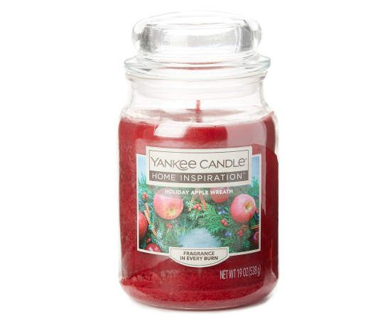 Holiday Apple Wreath