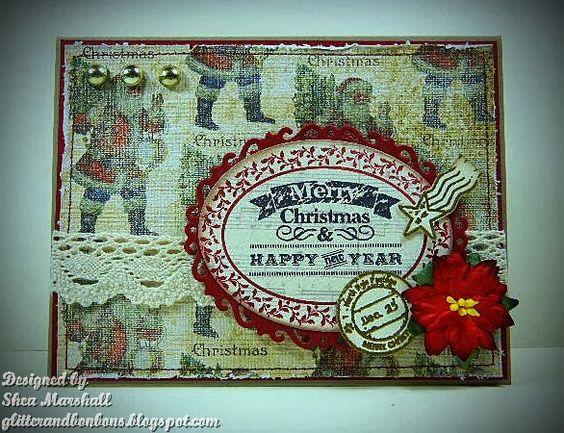 Vintage Christmashttp://glitterandbonbons.blogspot.com/