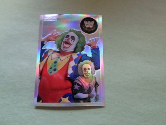 07 TOPPS CHROME HER. WWE DOINK # 88 ( REFACTOR )