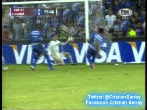 Emelec 2 Deportes Iquique 1 Copa Libertadores 2013