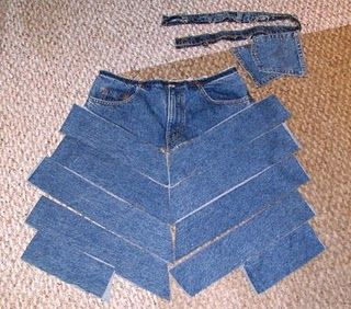 Jeans To Skirt Tutorial 52
