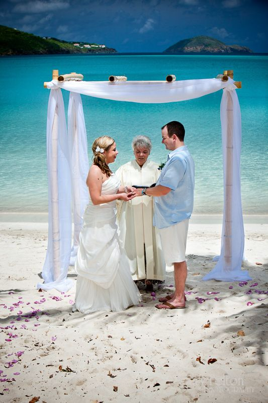 Beach Weddings By Deb St Thomas UVI Weddinginsurance Weddingprotectorplan