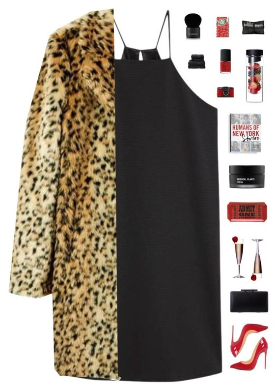 """yeah she got a fake ID they'll never know she's 17"" by loasanchez ❤ liked on Polyvore featuring MANGO, Christian Louboutin, Koh Gen Do, Macmillan, Sephora Collection, NARS Cosmetics, LØMO, Givenchy and Christy"