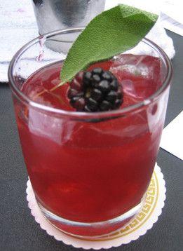 Carlos Cuarta's Fiesta Mora, summer blackberry and pisco delight.
