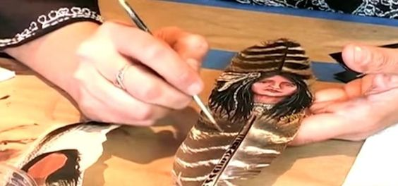 How to DoAcrylic Painting on Feathers « Painting Tips