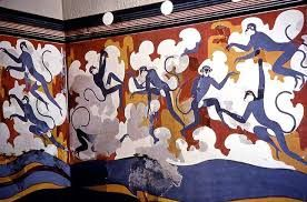 Minoan dancing monkeys
