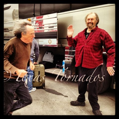 The Texas Tornados Behind The Scenes