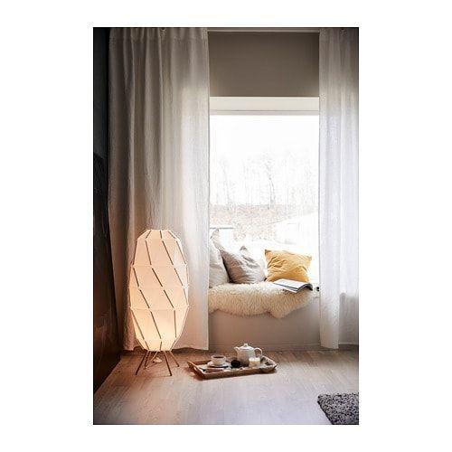 Sjopenna Staande Lamp Wit Ikea White Floor Lamp Floor Lamps Living Room Floor Lamp