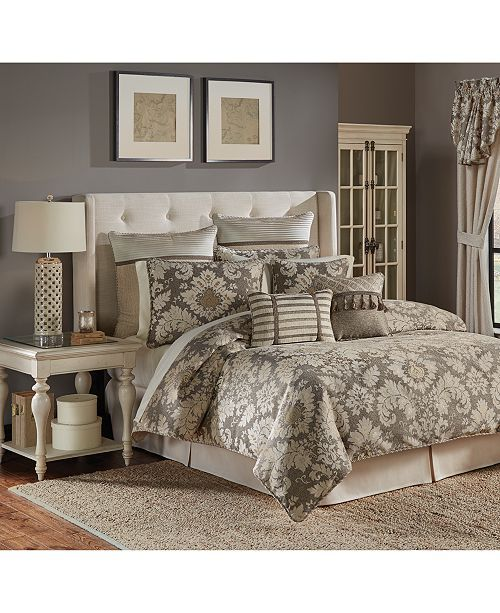 Croscill Nerissa Bedding Collection Reviews Bedding Collections Bed Bath Macy S In 2020 Comforter Sets Luxury Comforter Sets King Comforter Sets