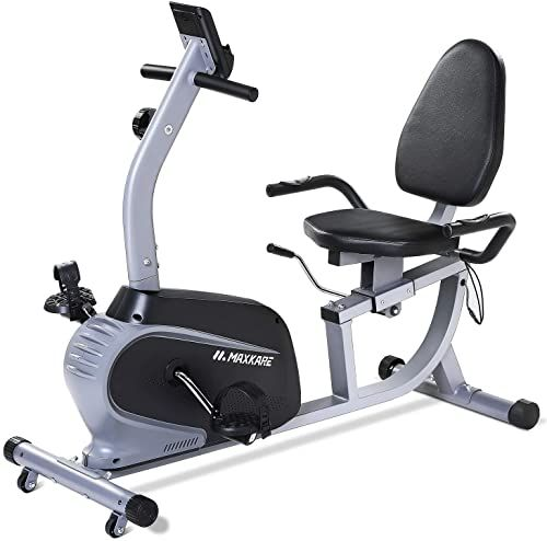Buy Maxkare Recumbent Exercise Bike Indoor Cycling Stationary Bike