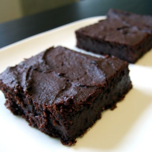 GF Sweet Potato Brownies - sub agave or brown rice syrup for honey!