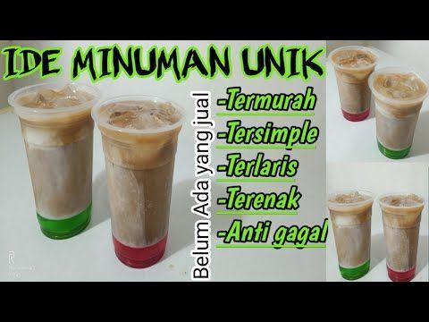 Minuman Kekinian Tersimpel Untuk Ide Jualan Belum Ada Yang Jual Dijamin Laris Manis Youtube Minuman Resep Minuman Resep