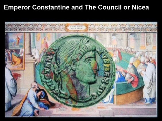 Romes constantine and the council of nicea