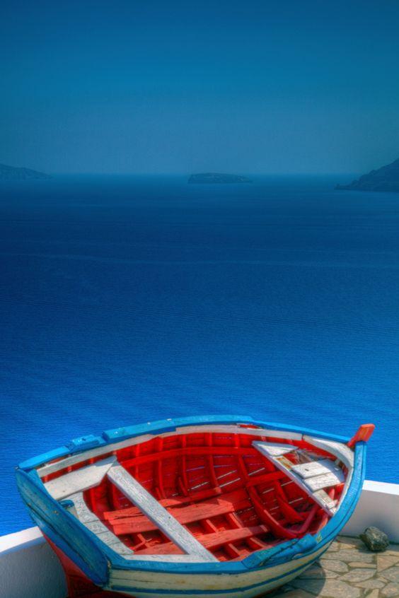 Cool Blue em Oia, Santorini: