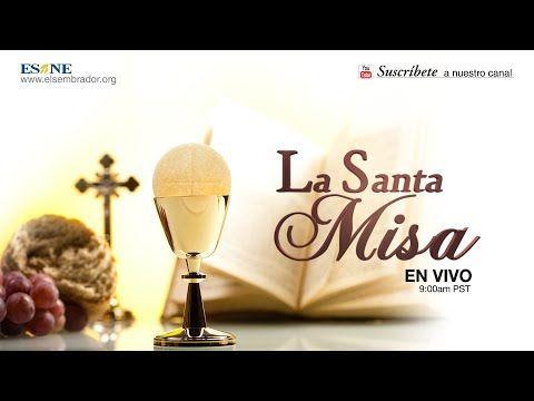 La Santa Misa En Vivo Esne Place Card Holders Misa Anything Is Possible