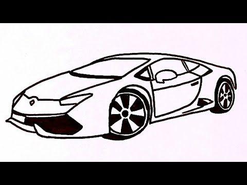 رسم سيارة سهله وبسيطة رسم سهل وكيوت للمبتدئين رسومات سهله وبسيطة How To Draw A Car Youtube Sports Car Car Suv Car