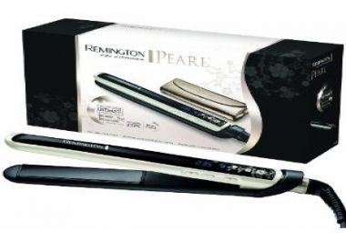 The Remington S9500 Pearl Hair Straighteners are some of the best hair straighteners on the market. They are pretty pricy coming in at £79.99 (UK). They come with a five year guarantee and have a variable heat capacity of between 150 degrees ce