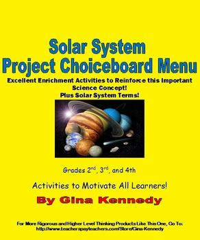 teaching 4th grade solar system - photo #19