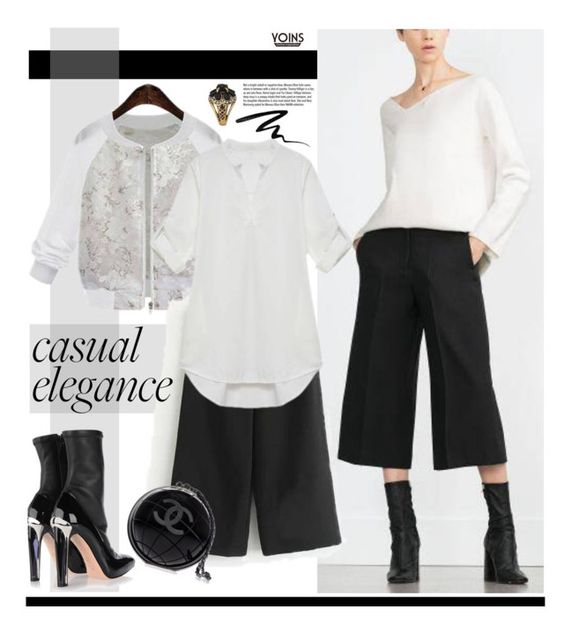 """Yoins.com: Casual Elegance"" by hamaly ❤ liked on Polyvore featuring Alexander McQueen, Garance Doré, Too Faced Cosmetics, Chanel, women's clothing, women, female, woman, misses and juniors"