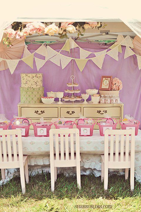 Girly party/ bridal shower/ baby shower ideas
