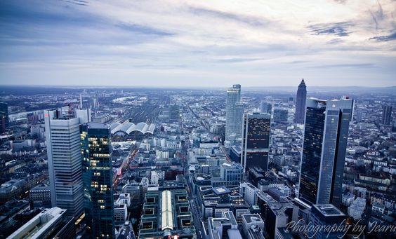 Frankfurt in blue by Jeannette Rudloff / 500px