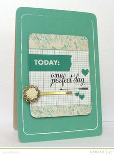 Today: One Perfect Day by LucyAbrams at @Studio_Calico
