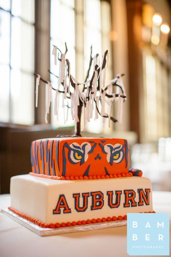 chattanooga weddings, fairyland club, bamber photography, grooms cake, auburn grooms cake, auburn, wareagle, auburn wedding cake