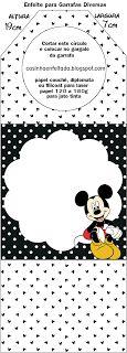 Kit Festa do Mickey Para Imprimir Grátis