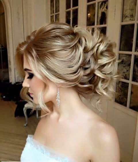 Penteados de noiva 2018 coque