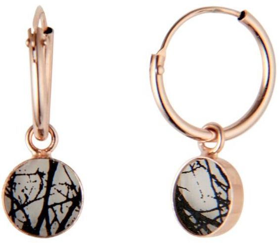 Love these earrings, rose gold