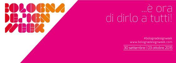 Da mercoledì 30 settembre a sabato 3 ottobre a Bologna si terrà la prima edizione della Bologna Design Week. Un appuntamento che vede riunite le eccellenze culturali, produttive e creative del territorio in un sistema integrato di comunicazione. #madeinitaly #design #artigianato #bologna