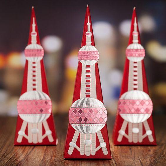 韓國設計師設計東方之珠喜糖盒