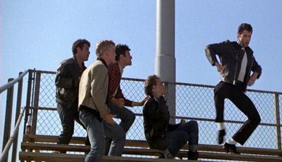 Sonny, Putzie, Doody, Kenickie and Danny