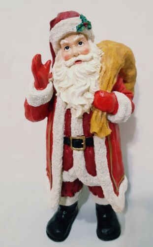 Santa Claus Figurine House Of Lloyd 2001 Christmas Around The World 10 Resin Ebay Santa Claus Modern Christmas Figurines