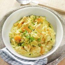 fr.WeightWatchers.be: recette Weight Watchers - Pot au feu de poulet au curry et au riz