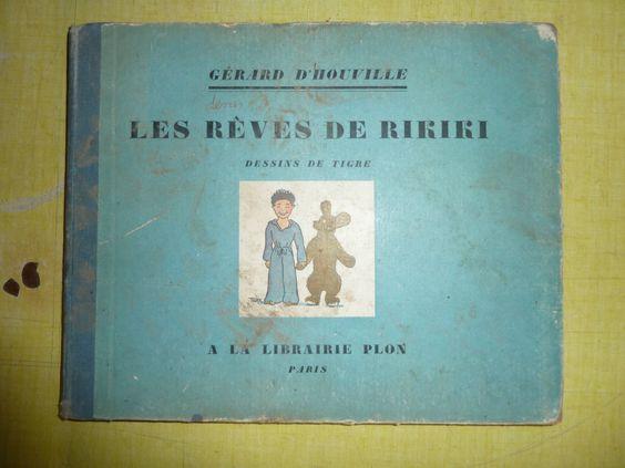 Ancien Livre LES Reves DE Rikiki PAR Gerard D'Houville | eBay