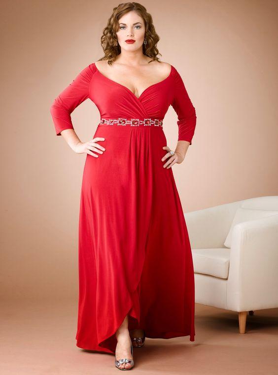 E evening dresses for plus