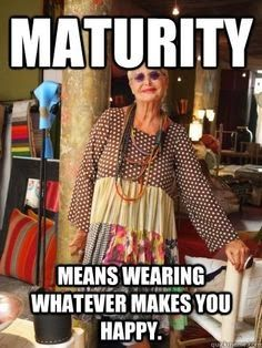 Sassy Boomer Girl: What To Wear In Your 40s, 50s, 60s ..... blah, blah, blah.: