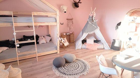 Epingle Sur Lit Cabane Montessori Gribouille Ta Chambre