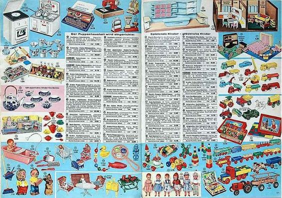 Spielzeug DDR BRD 1960