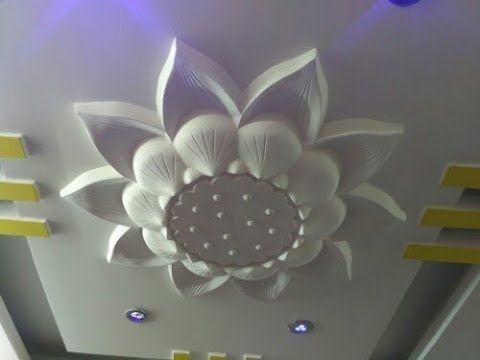 Ceiling Flower Designs In 2020 Pop False Ceiling Design Pop Ceiling Design Fall Ceiling Designs Bedroom