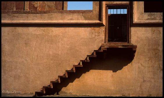 Escalerilla en Jaipur